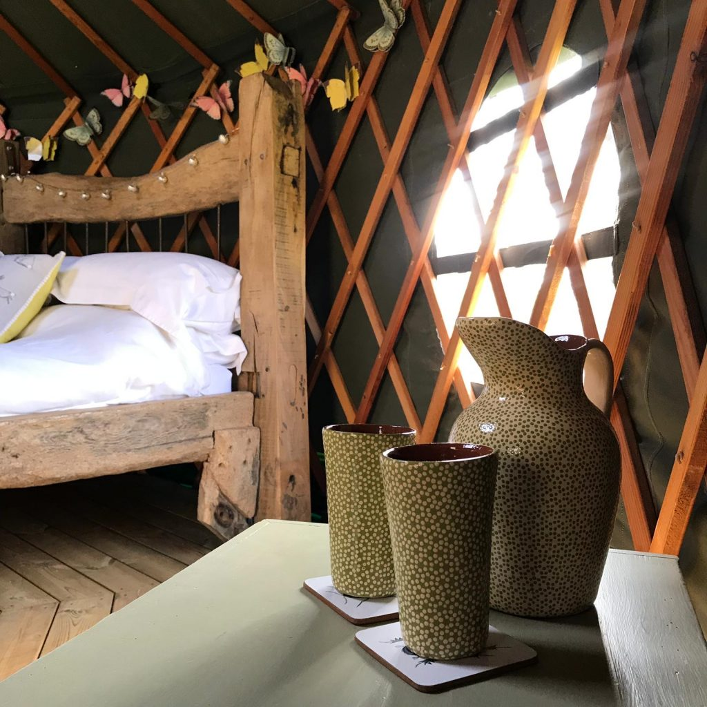 Glamping Holidays UK Suffolk Yurt Holidays